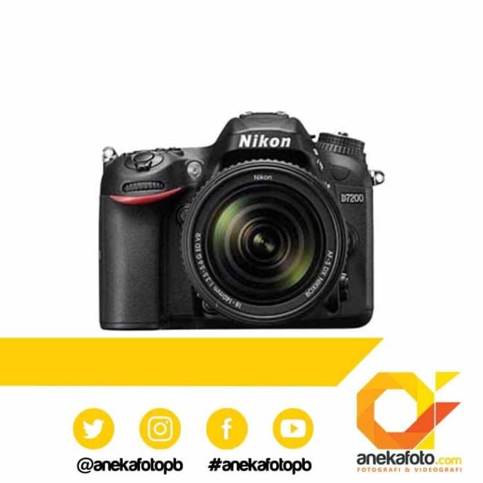 harga Nikon d7200 kit 18-140mm vr black Tokopedia.com