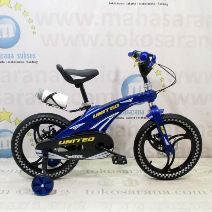 harga 16  united aero bmx 4-7 tahun aloi pelek racing sepeda anak laki-laki Tokopedia.com