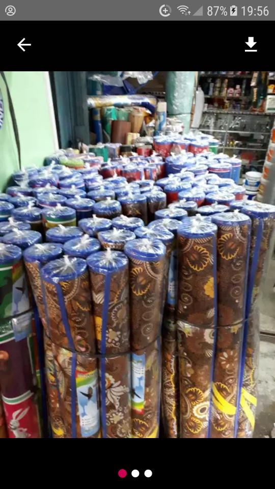 Karpet motif tikar matras plastik printing motif