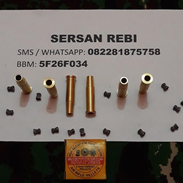 harga Selongsong / shell mimis 5,5mm khusus pake ramset untuk rev wg dan rcf Tokopedia.com