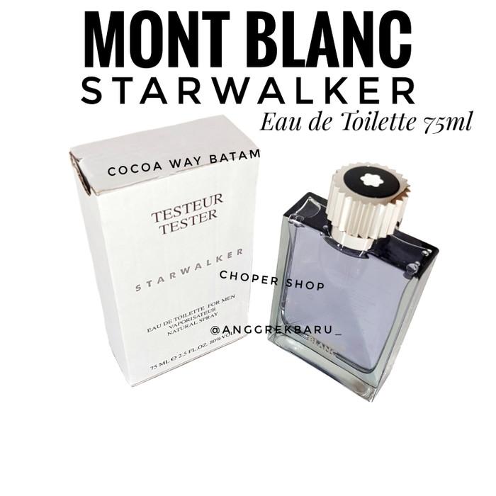 harga Parfum tester mont blanc starwalker 75ml edt Tokopedia.com