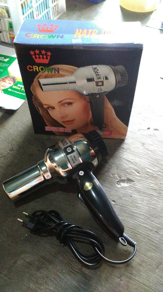 Jual Hair Dryer Hairdryer Rainbow   Crown Pengering Rambut - ijung k ... 03530503fc