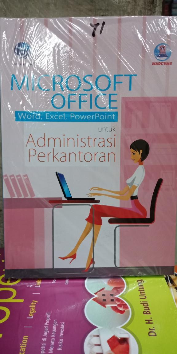 Foto Produk Mic office(word,excel dan power point) untuk Administrasi perkantoran dari Tokobuku Rostangg