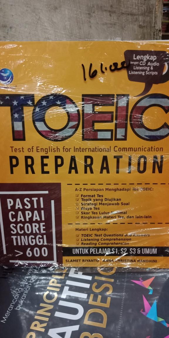 Foto Produk Toeic Preparation Pkus cd dari Tokobuku Rostangg