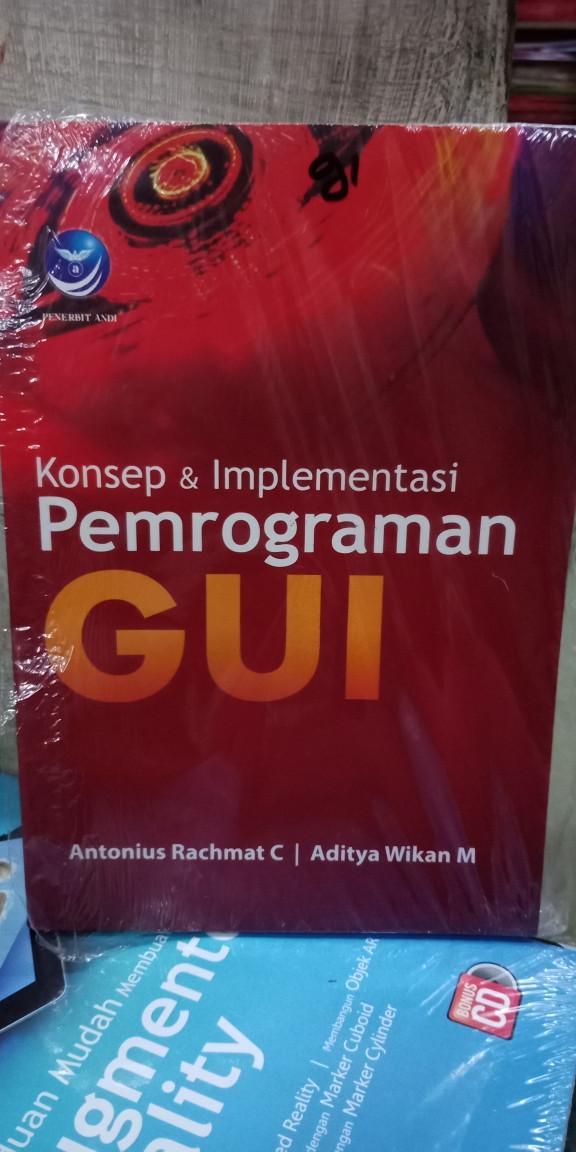 Foto Produk Konsep dan implementasi pemrograman Gui dari Tokobuku Rostangg