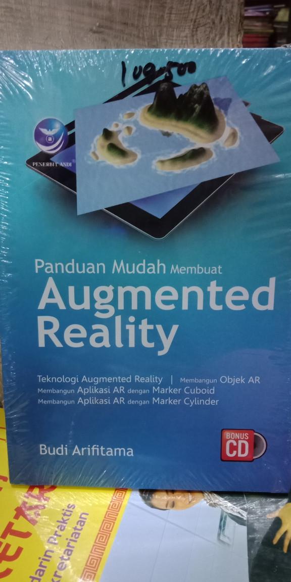 Foto Produk Panduan mudah membuat Augmented Reality bonus cd dari Tokobuku Rostangg