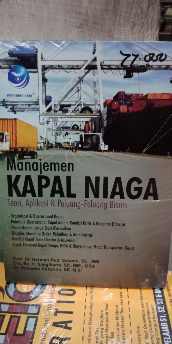 Foto Produk Manajemen kapal niaga teori aplikasi dan peluang2 bisnis dari Tokobuku Rostangg