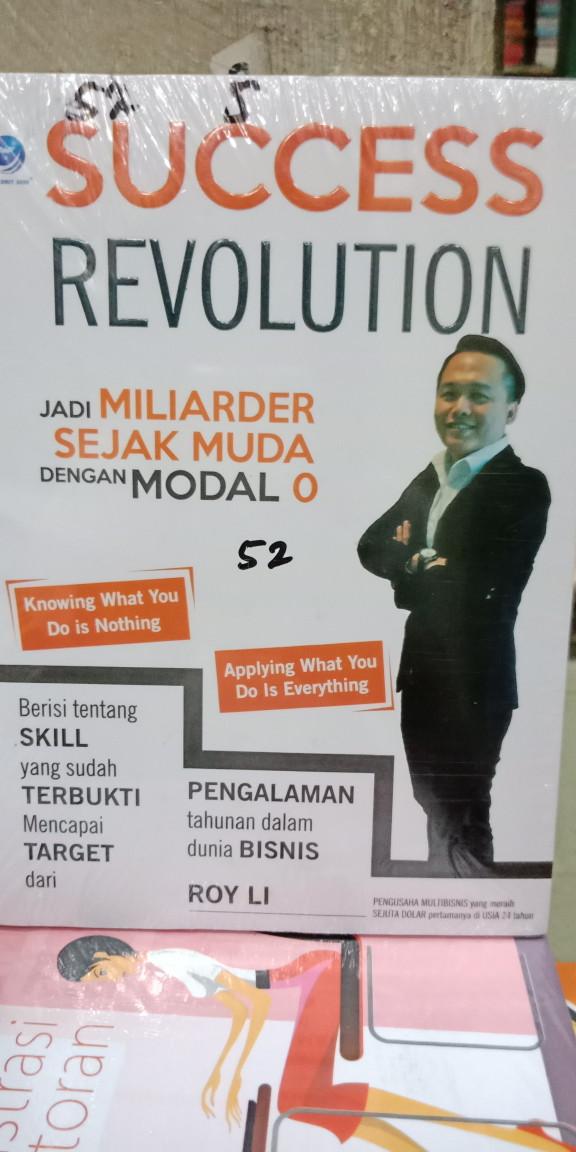 Foto Produk Success revolution jadi miliader sejak muda dengan Modal O dari Tokobuku Rostangg