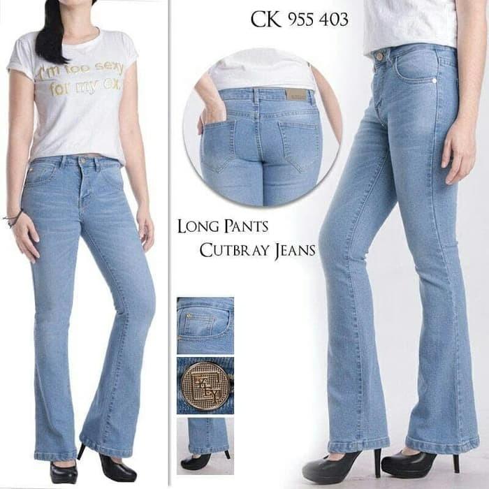 97+  Celana Jeans Cutbray Wanita 2018 Terlihat Keren Gratis