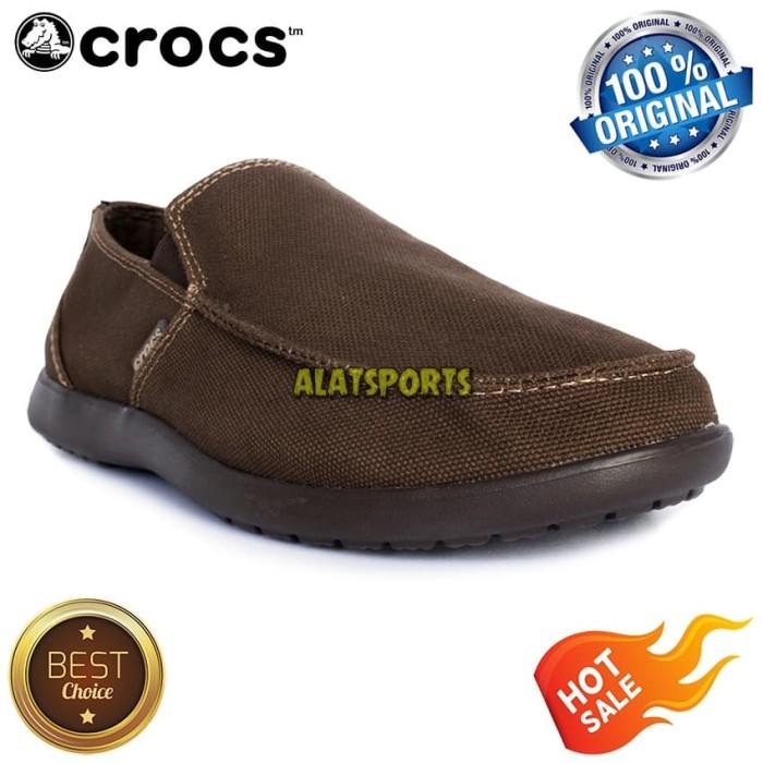 3cfc96671c06af harga Sepatu sneaker pria crocs santa cruz clean cut loafer 202972-22z kopi  Tokopedia.