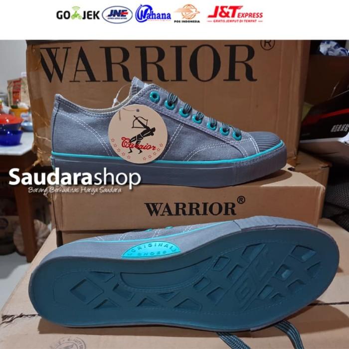Foto Produk Sepatu Warrior Classic Low Abu Tosca / Sepatu Warrior Abu2 [37-43] dari Saudara Shop
