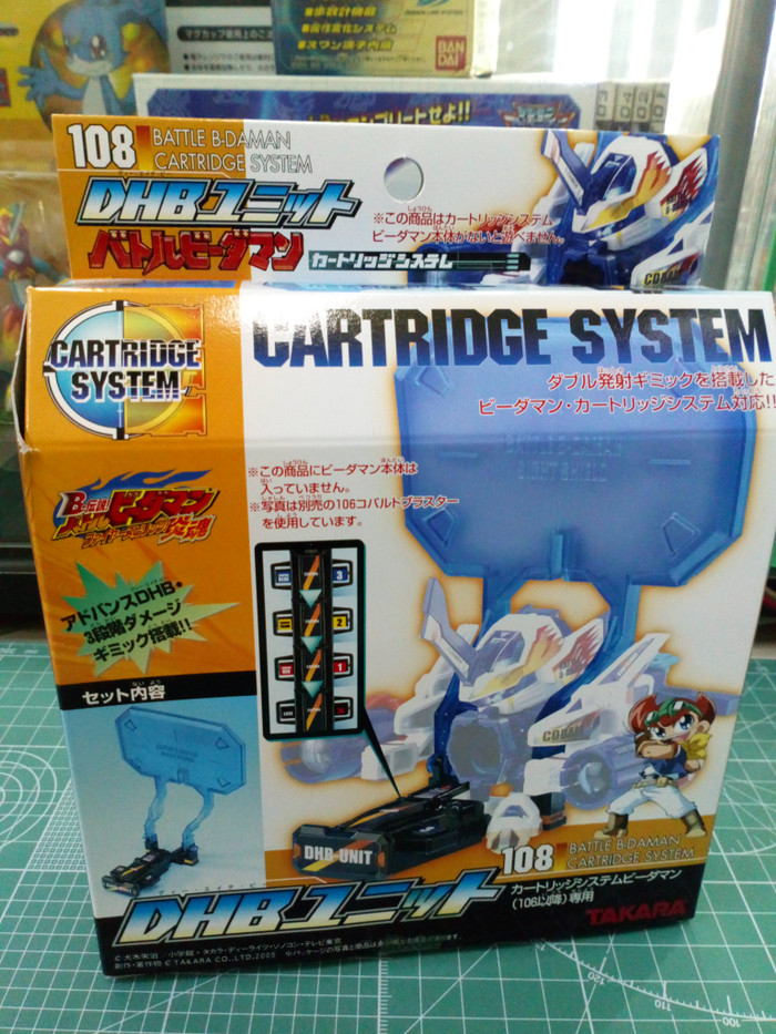 harga Battle b-daman cartridge system - dhb unit takara Tokopedia.com