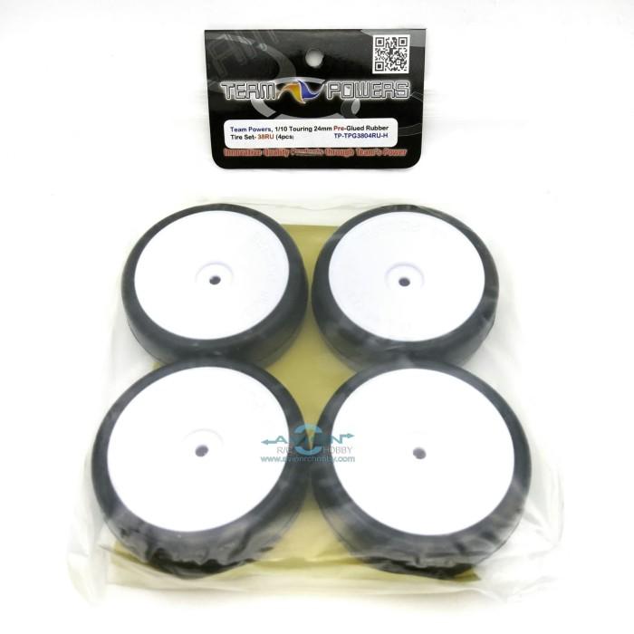 harga Team powers - 1:10 touring car rubber tire set (pre glue 38ru) Tokopedia.com