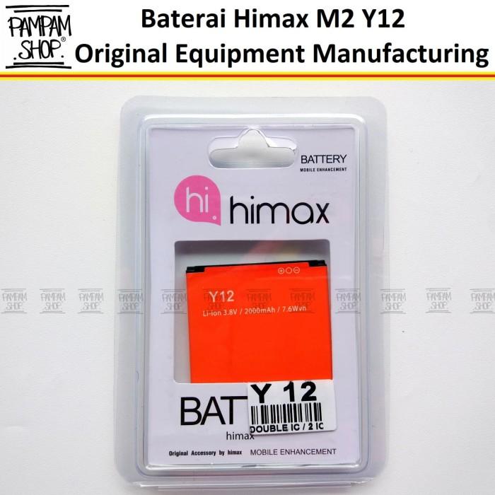 harga Baterai handphone himax m2 y12 original oem batre batrai battery hp Tokopedia.com