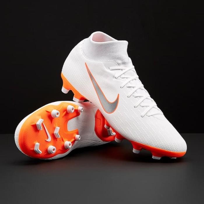 Jual Sepatu Bola Nike Mercurial Superfly Vi Academy Fg Mg White