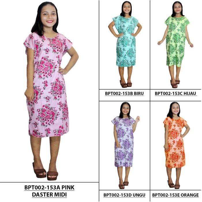 Harga Daster Lowo Batik Print DPT002 05C PriceNia com Source · Daster Midi  Dress Santai Baju 867d5dfc14