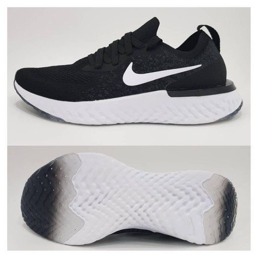 harga Nike Epic React Black White Super Premium Quality Unisex Shoes  Blanja.com 4181e252e1