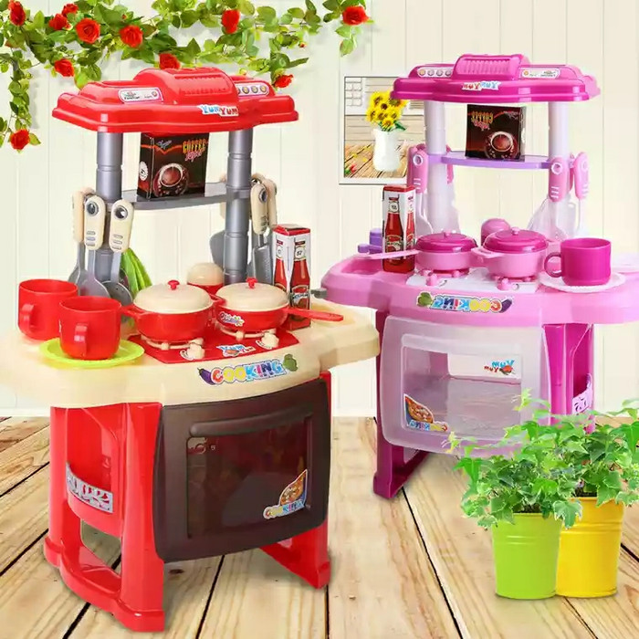 harga Mainan memasak edukasi edukatif anak barbie kichen set Tokopedia.com