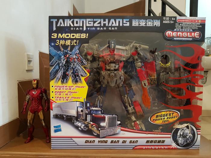 Foto Produk Taikongzhans Optimus Prime oversized Leader Class Transformers dari Charu Toys