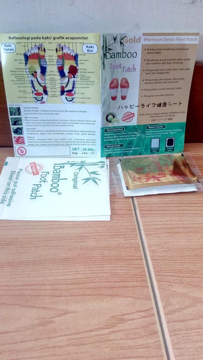 Jual Koyo Kaki Bamboo Penghilang Racun Dalam Tubuh Gold Original Detox