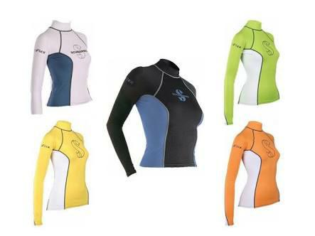 harga Baju selam rashguard t-flex scubapro promo wetsuit Tokopedia.com