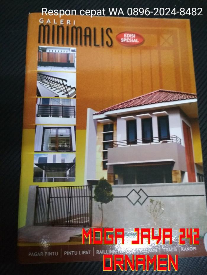 Jual Buku Katalog Album Desain Tralis Canopy Pagar Besi Minimalis