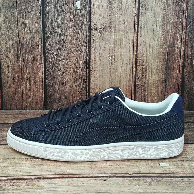 low priced 0a19e 51327 ORIGINAL PUMA BASKET CLASSIC DENIM Sepatu sneakers kasual Pria