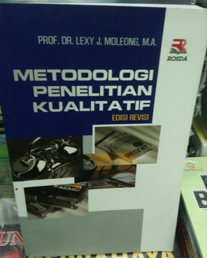 Ebook Metodologi Penelitian Kualitatif Lexy J Moleong