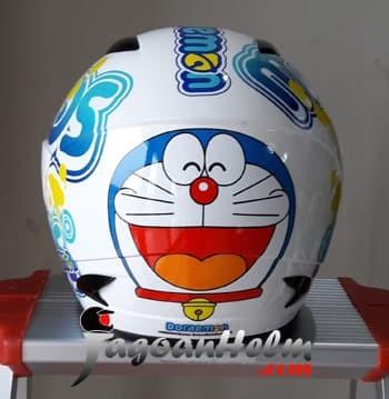 harga Mds helm sport r3 doraemon happy face - dewasa Tokopedia.com