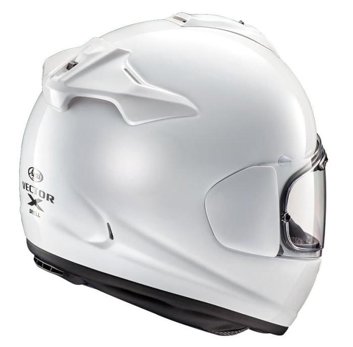 Arai Vector-X Original Helm Full Face - Glass White 1