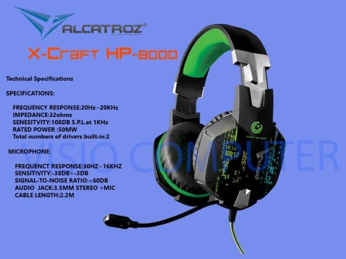 Alcatroz X Craft Hp8000 - Daftar Update Harga Terbaru Indonesia