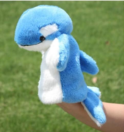 harga Mainan tangan ujian anak karakter boneka dolphin lumba lucu lembut Tokopedia.com