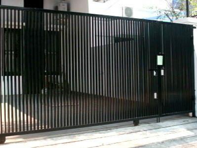 Jual Pagar Rumah Minimalis Dan Tralis Tembok - Kota Bekasi - Jasa Las |  Tokopedia