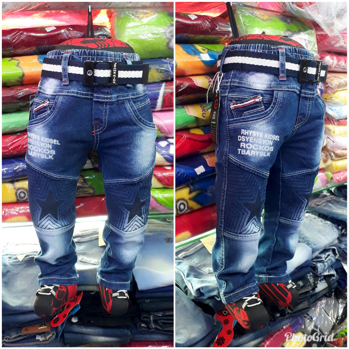harga Celana jeans anak laki-laki usia 1 th- 6 th , celana panjang anak ag02 Tokopedia.com