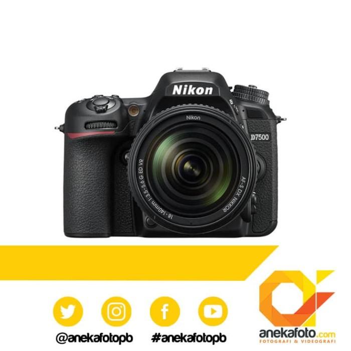 harga Nikon d7500 sg kit 18-140mm vr black Tokopedia.com