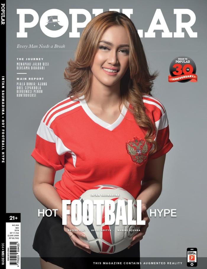 harga Majalah popular   mei 2018   hot football hype Tokopedia.com