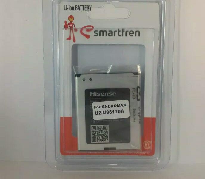... harga Batre baterai battery smartfren andromax u2 / e2+/ qi 4g lite ori Tokopedia.