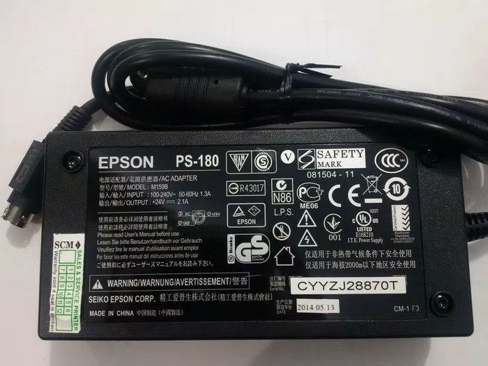 harga Adaptor epson pos printer ps-180 Tokopedia.com