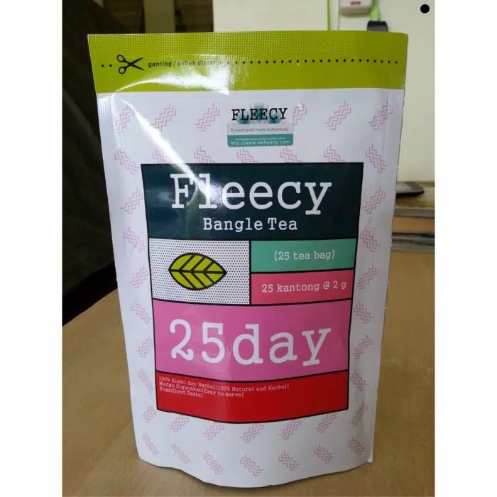 Fleecy Bangle Tea/Teh Pelangsing/Slimming Tea