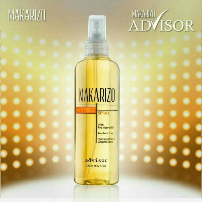 Vitamin Rambut Anti Kusut Makarizo Advisor Anti Frizz 240ml pas