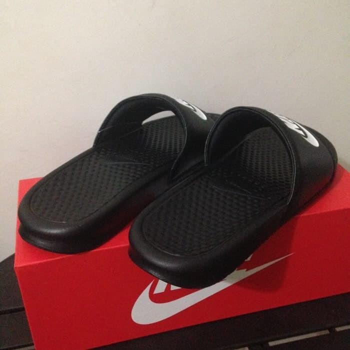 bc3328e3988f Jual SANDAL MURAH Sandal Nike Benassi Jdi Black 343880-090 Original ...