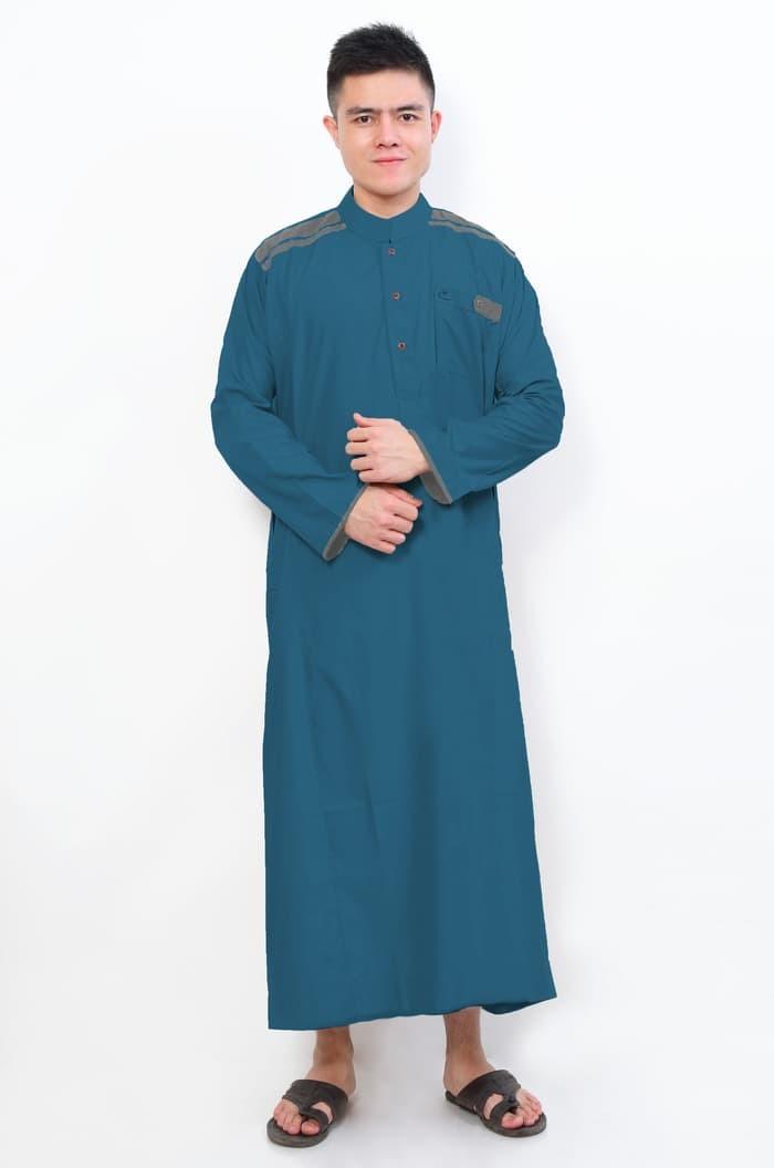 Jual Gamis Terbaru Jubah Cordova Toska Pakaian Setelan Gamis Pria Al