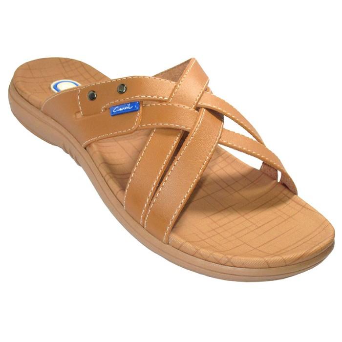 harga Carvil sandal casual men otawa-882 m camel - cokelat muda 42 Tokopedia.com