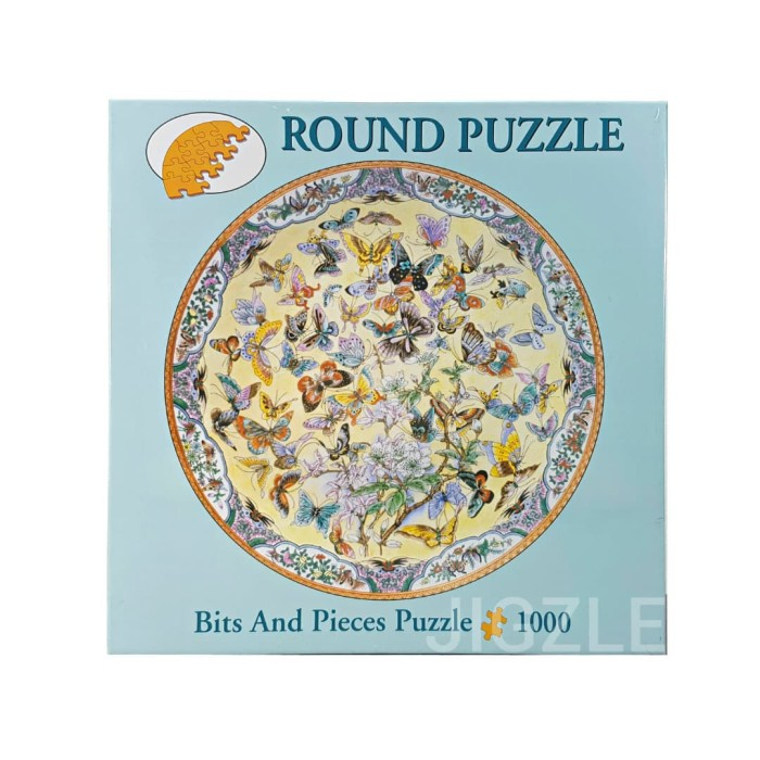 harga Bits and pieces 45503 ninety nine butterflies 1000pcs jigsaw puzzle Tokopedia.com