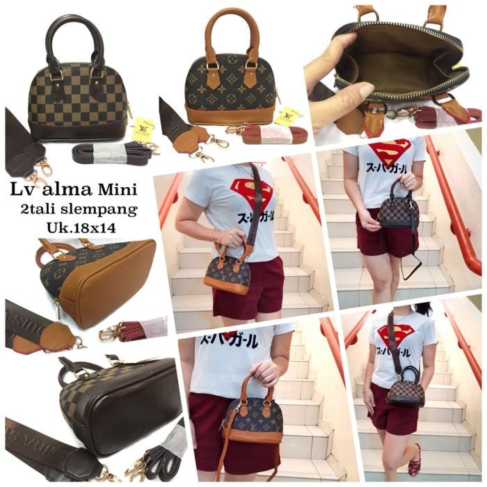 4a9a47bbd75b Jual TAS LV ALMA MINI SEMI SUPER - DKI Jakarta - Value Bags | Tokopedia