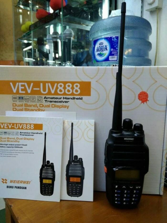 Foto Produk New HT weirwei UV-888 dualband 10Watt dari buicctv