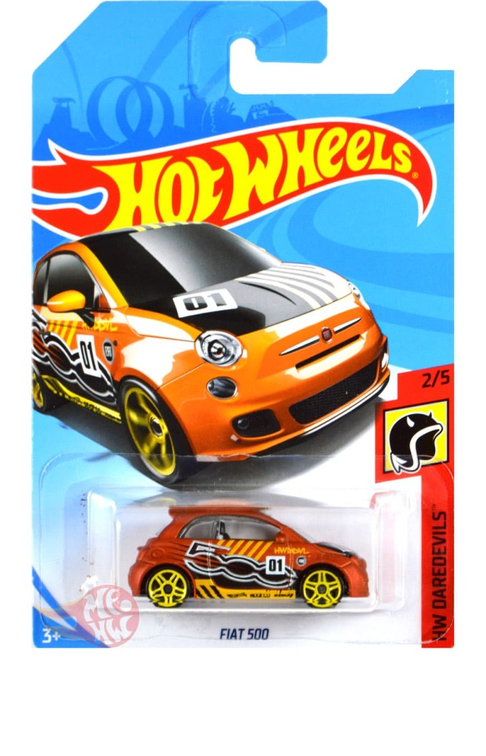 harga Fiat 500 satin orange - hw hot wheels hotwheels Tokopedia.com