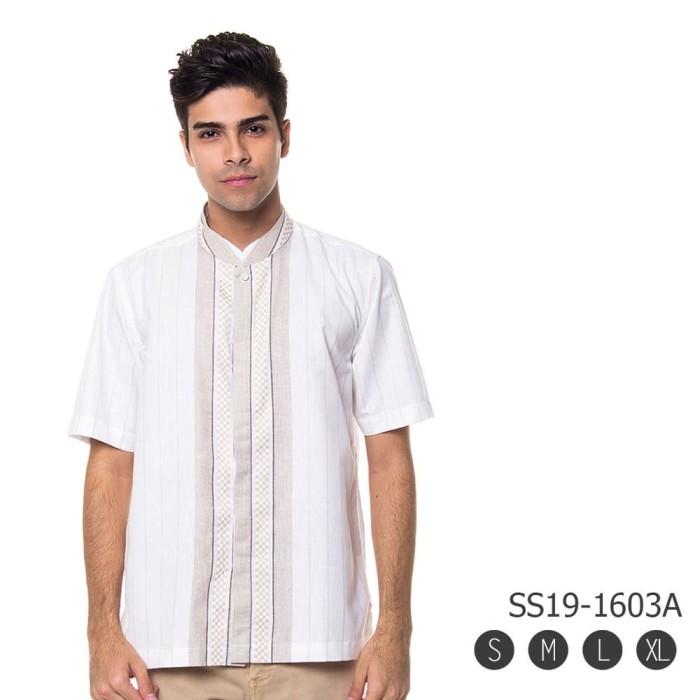 Busana Muslim Pria  Modern - Baju Koko Premium 1