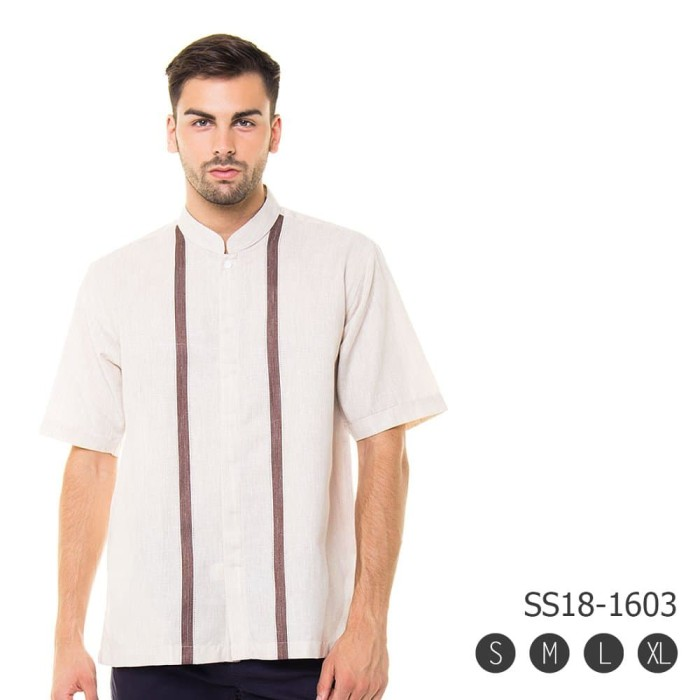 Busana Muslim Pria  Modern - Baju Koko Premium 3