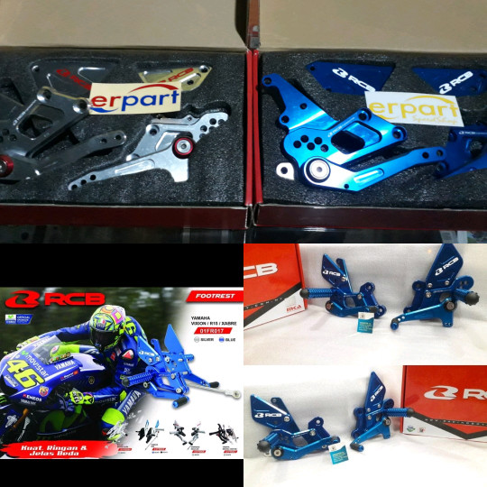 harga Footstep r15 rcb footstep xaber racing boy footstep new r15 Tokopedia.com